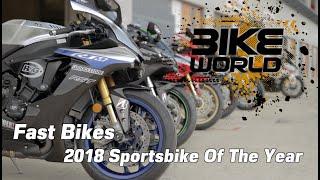 Video Fast Bikes Sportsbike of 2018 shootout MP3, 3GP, MP4, WEBM, AVI, FLV September 2018