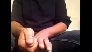 Hands Self Massage Lesson-ASMR-Massage Des Mains Francais