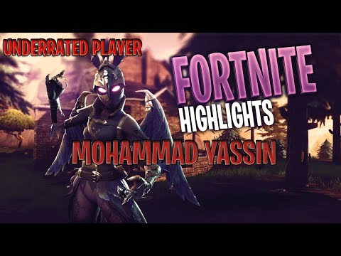 Underrated Fortnite Player Highlights #1 [mohammad Yassin]