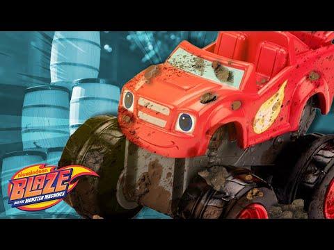 Monster Machine Mudfest #2 w/ Blaze! | Blaze and the Monster Machines