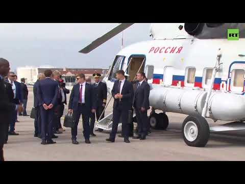 Прилёт Путина во Францию с рабочим визитом