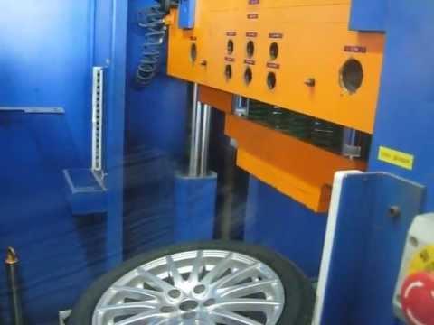 Испытание автомобильного диска WSP Italy W237 MISANO на удар спицы (Alfa Romeо)