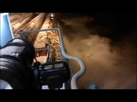Russian Cargo Ship Loses Cargo of Big Ass Pipes