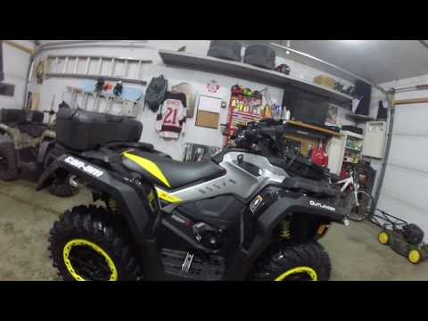 Brand new 2018 X xc Can-Am Outlander 1000r with accessories