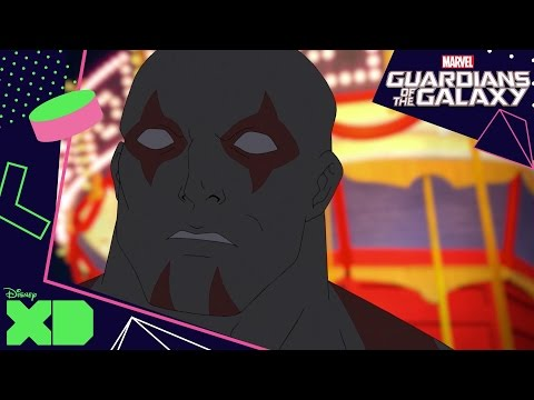 Guardians Of The Galaxy: Shorts | Drax Attacks | Disney Xd