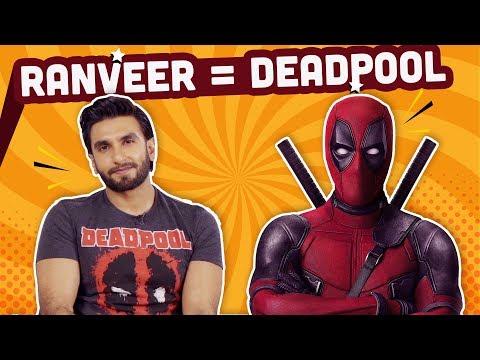 Beard styles - Ranveer Singh reveals his  Indian superhero name and superpower  Deadpool 2  Bollywood  Pinkvilla