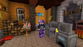 Minecraft - TerraFirmaPunk #38: Carpenter Press