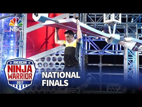 Sean Bryan at the Las Vegas National Finals: Stage 2 - American Ninja Warrior 2017