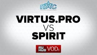 Spirit vs Virtus.Pro, game 2