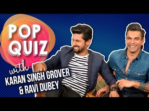 Play The Pop Quiz With Karan Singh Grover & Ravi D