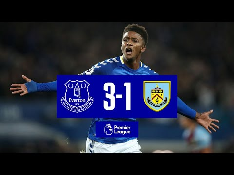 EVERTON 3-1 BURNLEY | PREMIER LEAGUE HIGHLIGHTS | TOWNSEND STUNNER AS TOFFEES FIGHT BACK TO WIN