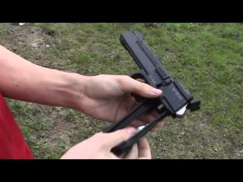 Обзор пневматического пистолета Байкал МП 651КС  Тест на убойность!!!