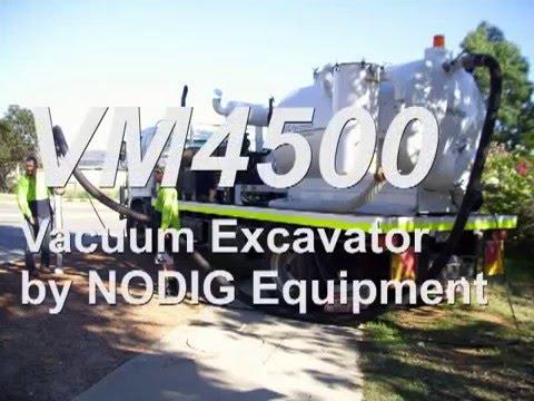 Vacuum Excavator System
