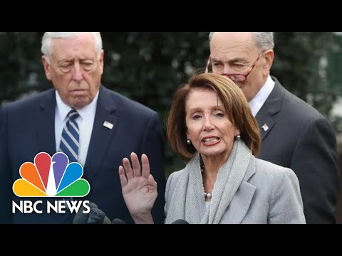 Nancy Pelosi, Steny Hoyer Defend President Donald Trump State Of The Union Delay | NBC News