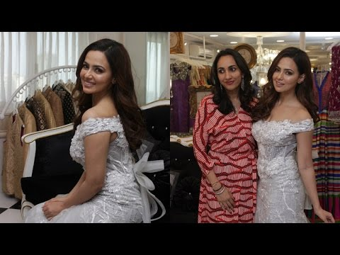 Dimple & Amrin Showcase Spring Summer Collection With Sana Khan Hdd