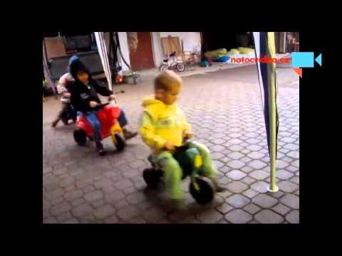 Závod Harley Davidson v Kostelecké Lhotě - dětský