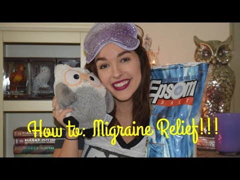 How to Manage Migraines! Migraine Relief! | Mindy Minx