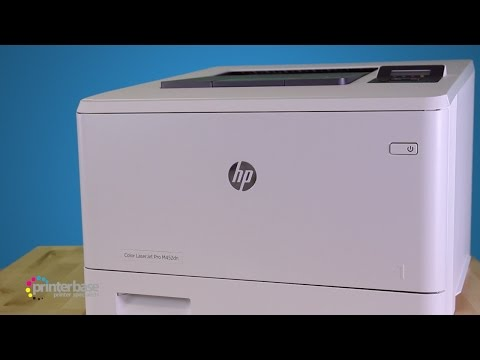 HP LaserJet Pro M452DN Colour Laser Printer Review | printerbase.co.uk
