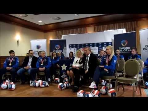 Konferencja prasowa Klubu Piłki Siatkowej Chemik Police S.A po zakończeniu sezonu 2014/2015