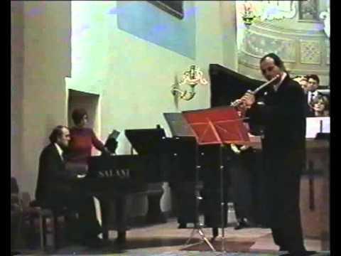 J.S.Bach, Allegro dalla Sonata in Sol minore per flauto e clavicembalo BWV 1020