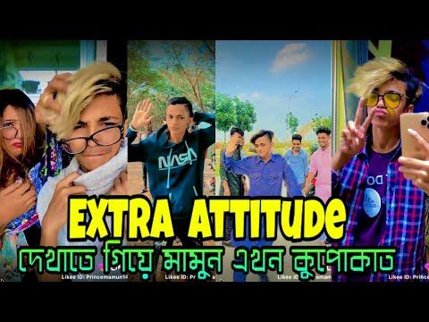 EXTRA ATTITUDE দেখাতে গিয়ে মামুন এখন কুপোকাত | Prince Mamun Attitude TikTok | Mamun tiktok / mamun