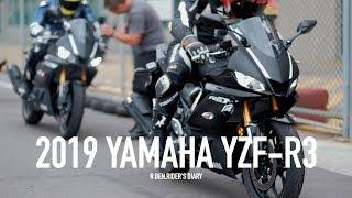 6. 第一人稱 / 2019 YAMAHA YZF R3�先體驗