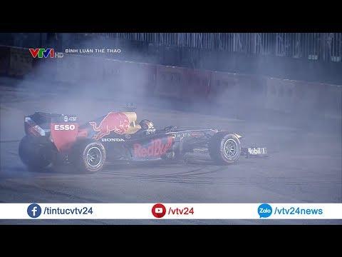 Cận cảnh những chiếc xe đua F1 trên đường phố Hà Nội, Việt Nam @ vcloz.com
