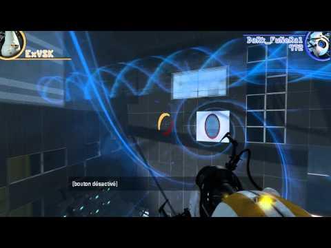 Portal 2 Coop - Chapitre 4 - ExVSK & DaRk_FuNeRaL