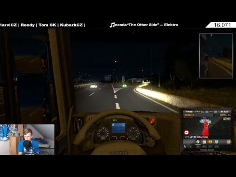 LIVE | Euro Truck Simulator 2-Promods | VELKÝ NÁVRAT-První Zářijový Stream!!! :) | CZ/SK