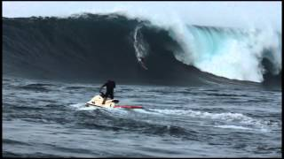Shane Dorian at Jaws - Billabong XXL Big Wave Awards 2013