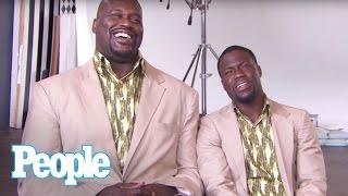 "Kevin Hart & Shaq Revisit ""Twins"" I PEOPLE"