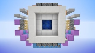 Minecraft Supercharged 4x4 Vault Door New Design