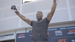 Video UFC Phoenix: Open Workout Highlights MP3, 3GP, MP4, WEBM, AVI, FLV Februari 2019