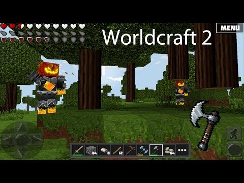 Worldcraft 2 Gameplay Part 3: Iron | Cave Exploration