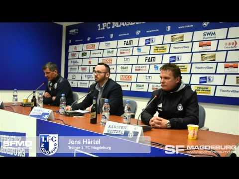 Video: Pressekonferenz - 1. FC Magdeburg gegen Holstein Kiel 0:1 (0:1)