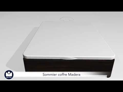 Sommier Coffre Bultex Madera
