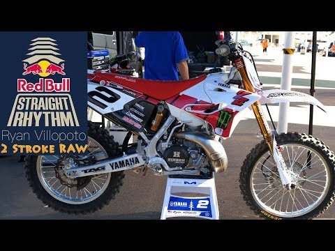 Ryan Villopoto Yamaha YZ250 2 Stroke RAW - Dirt Bike Magazine