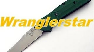 Follow Wrangerstar on Facebook for exclusive pictures, videos, and updates. http://www.facebook.com/pages/Wranglerstar/453208754723615Many thanks to fellow Youtuber and friend ltbaldwin for getting a keen edge on my Benchmade Osborn 940. Lt is using a sharpener by Wicked Edge http://www.wickededgeusa.com/