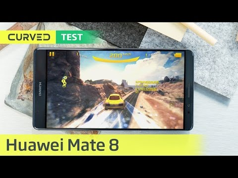 Youtube Video Huawei Mate 8 Dual-SIM in space gray