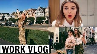 VLOG 1 l Work Vlog (A weekend in the life of a youtuber) l Olivia Jade