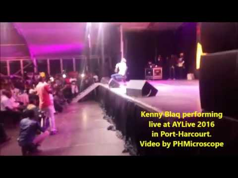 Kenny Blaq at AYLive 2016 in Port Harcourt (Nigerian Comedy)