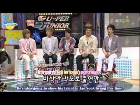 Come to play wonder girls/super junior Part 1(eng sub)