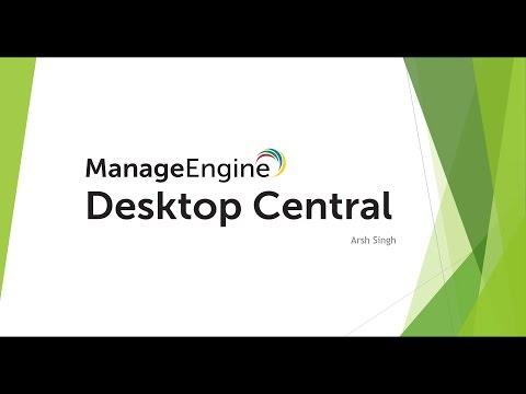 ManageEngine Webinar: Effective Patch Management with Desktop Central