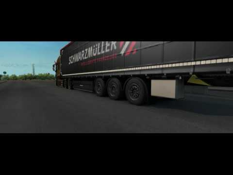 Ets2 Air Suspensions for All Trailer