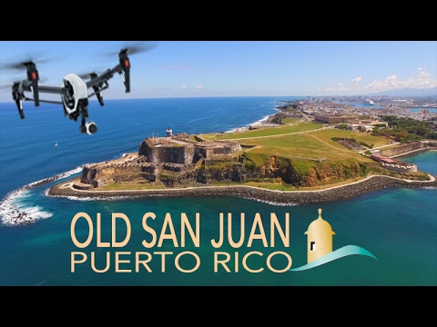 OLD SAN JUAN ~ Castillo San Felipe del Morro ~ Best Caribbean Drone Footage ~ WeBeYachting.com