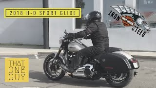 2. All-New 2018 Harley-Davidson Sport Glide test ride - a sporty utility cruiser