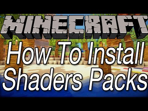 How To Install Shaders Packs In Minecraft 1.7.2, 1.7.4, and 1.7.5 (видео)
