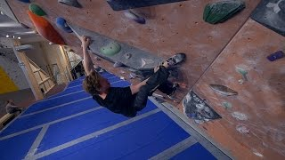 Nikken Is Running Up Problems This Bouldering Session! by Eric Karlsson Bouldering