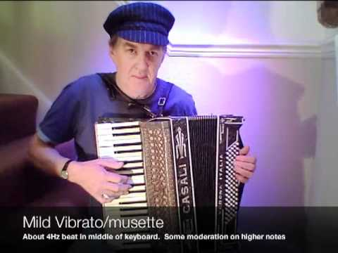 Four Tunings for accordions compared