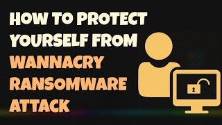 Im Extremely Sorry For The Bad Audio. Please Turn On Captions (CC) Hello Guys, Today Im Going To Show You How To Can Protect Yourself From Wannacry Ransomwar...